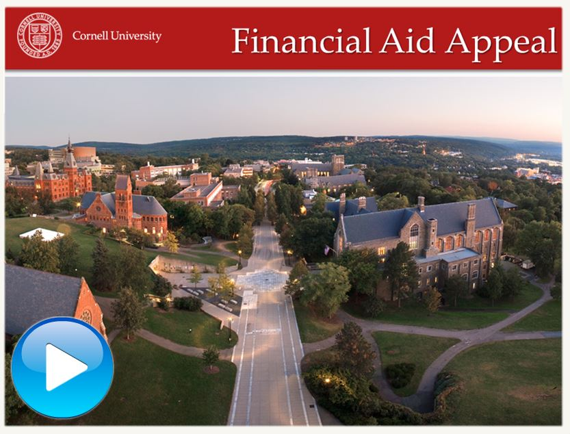 Financial Aid Appeal Video Tutorial